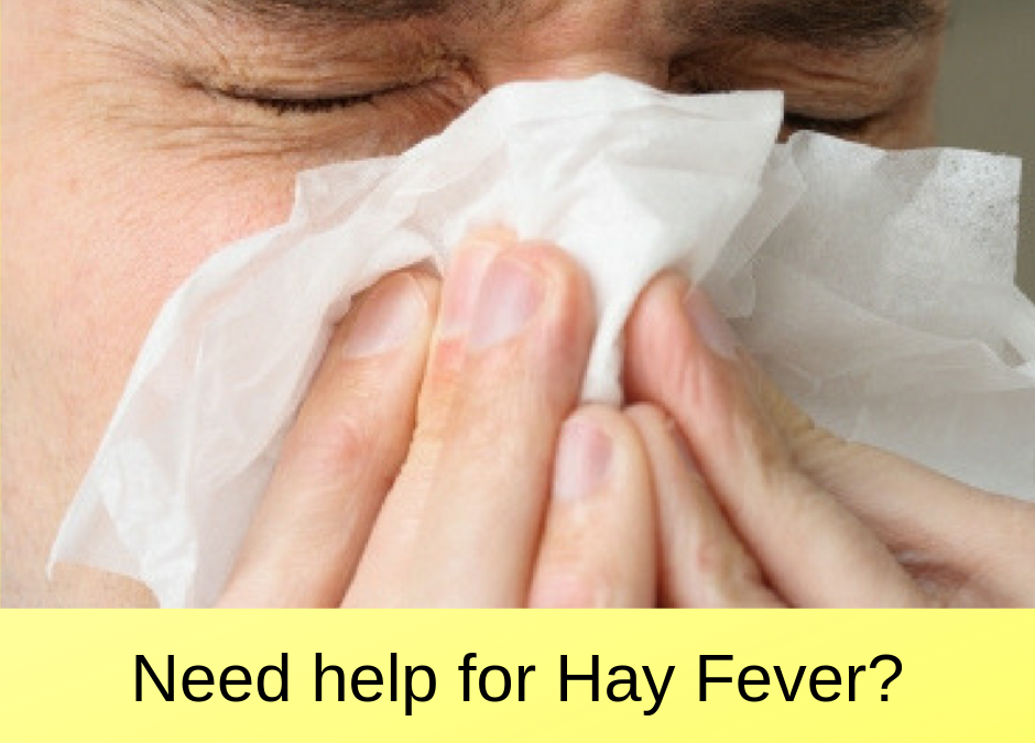 Need a remedy for hay fever NOW?